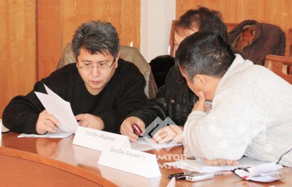 Заседание Наблюдательного совета Фонда развития Иссык-Кульской области итоговое в 2011 году