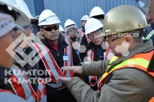 Группа жителей Джеты-Огузского района и города Балыкчы посетила рудник «Кумтор»