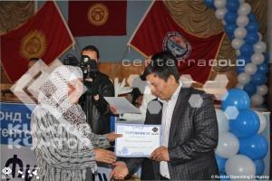 В городе Балыкчи открыто микрокредитное агентство «Балыкчи Финанс» финансируемое «Кумтор Оперейтинг Компани»