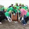 Школьники средних и старших классов очистили прибрежную зону от мусора