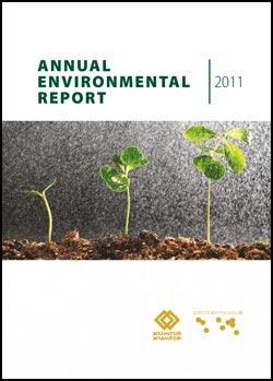 Annual Environment Report 2011