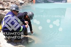 No Serious Environmental Accidents Recorded by the Kumtor Company in 2011
