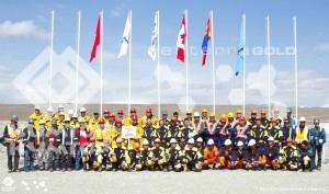 На руднике «Кумтор» прошли ежегодные соревнования горно-спасательных команд