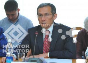 Вице-премьер-министр по экономике и инвестициям Джоомарт Оторбаев