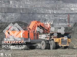 На руднике «Кумтор» приступил к работе первый карьерный экскаватор Hitachi 3600 с вместимостью ковша в 23 кубометра
