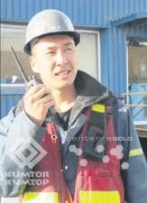 Манас Кабаев работает инженером по взрывным и бурильным работам
