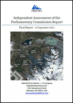 Prizma Independent Assessment of Parliamentary Commission Report