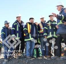 Члены Госкомиссии по Кумтору посетили рудник