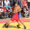 Соревнования по борьбе в селе Саруу Иссык-Кульской области