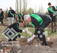 Kumtor Company supported Green Foundation's event