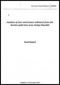 Report and the basic conclusions made by the laboratory of the Jožef Stefon Institute, Slovenia