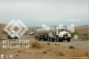 Renewed supply of fuel to the mine Kumtor