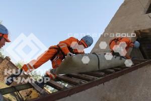 25 сентября 2013 г. прошли ежегодные соревнования горно-спасательных команд.