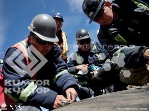На руднике «Кумтор» завершились, запланированные на 2013 год, работы по наращиванию дамбы хвостохранилища