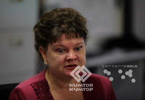Елена Сенькина, оператор. администратор алмазного бурения