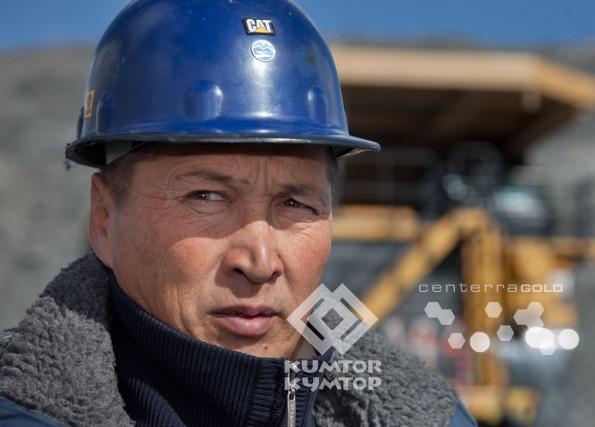 Adilet Janybekov, heavy duty truck operator