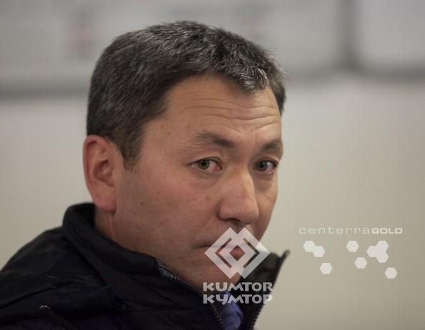 Almaz Baryktabasov, maintenance supervisor