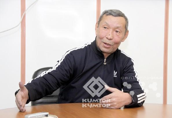 Старший аппаратчик-гидрометаллург компании «Кумтор» Ардакбек Мусаев