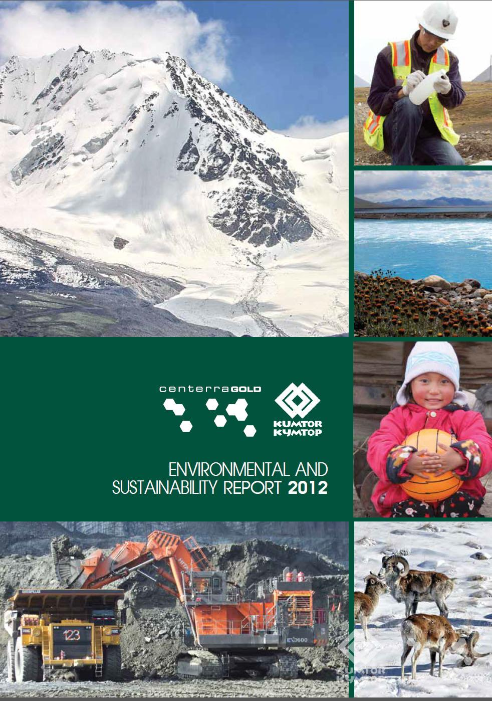 Annual Environment and Sustainability Report 2012