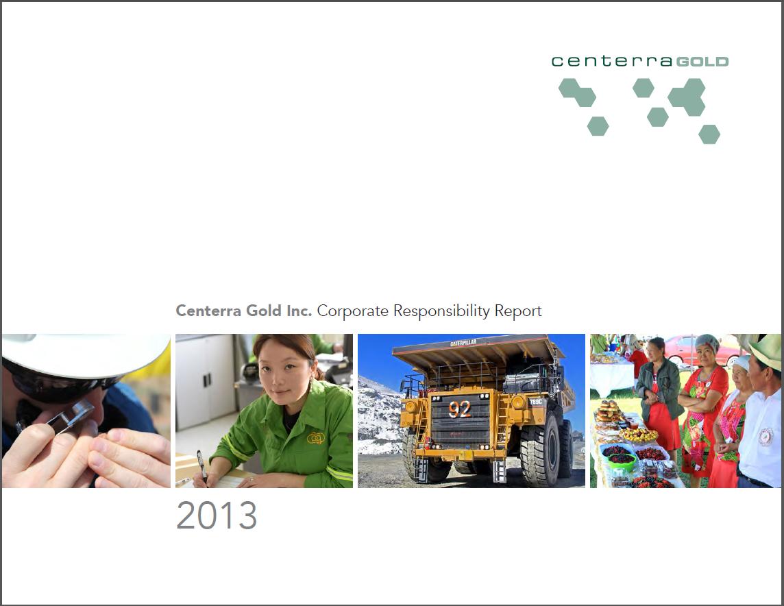 Corporate Responsibility Report 2013