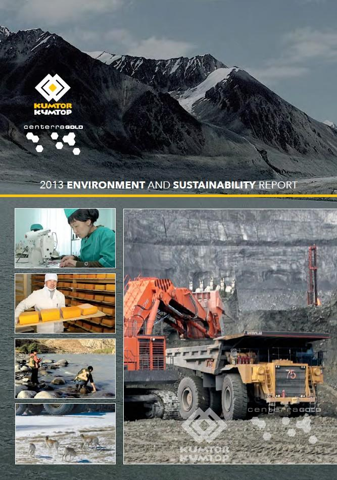 Annual Environment and Sustainability Report 2013