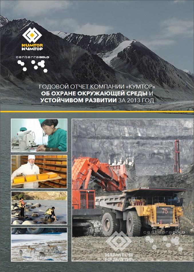 Отчет по охране окружающей среды и устойчивому развитию за 2013 год