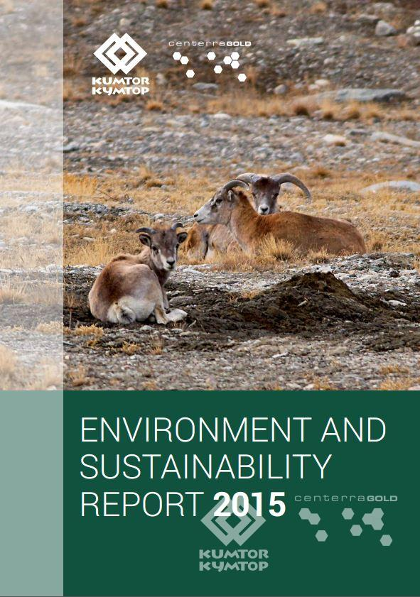 Annual Environment and Sustainability Report 2015
