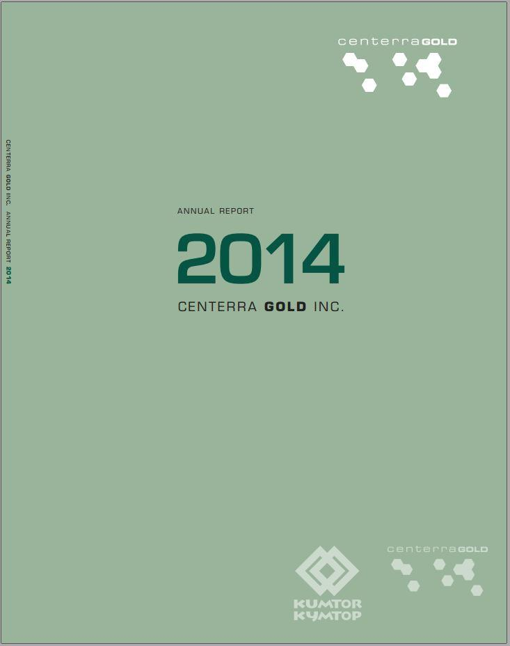 Centerra Gold Inc. Annual Report 2014