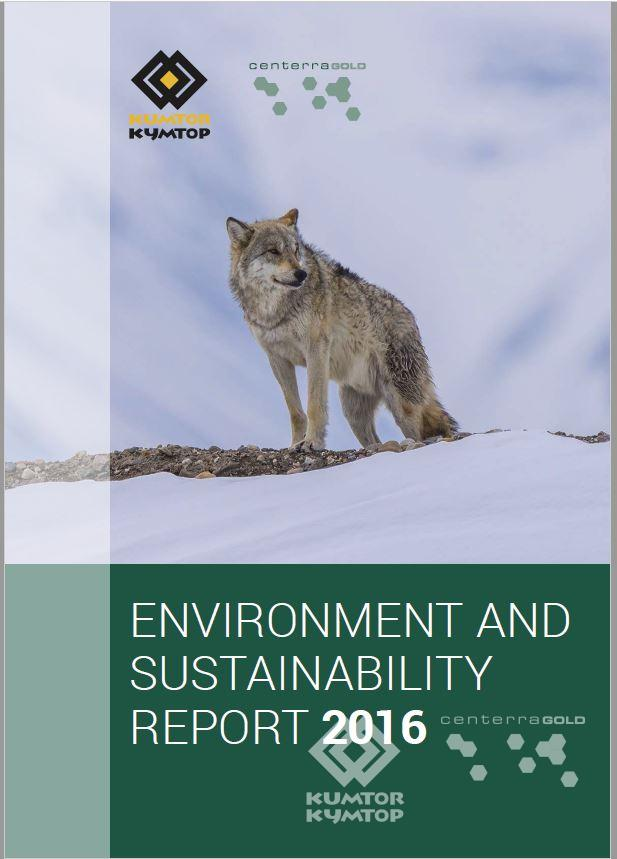 Annual Environment and Sustainability Report 2016