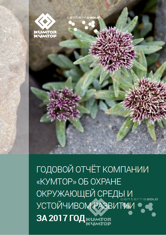 Отчет по охране окружающей среды и устойчивому развитию за 2017 год