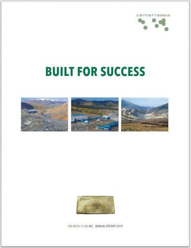 Centerra Gold Inc. Annual Report 2016