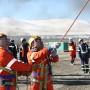 Соревнования добровольных горно-спасательных команд.